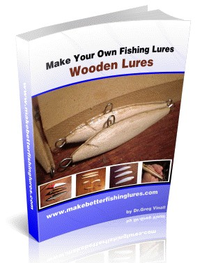 Download wooden lure making plans free for Fishing lure kits make your own